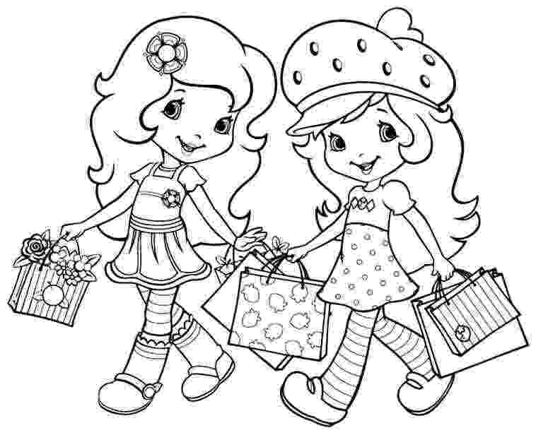 strawberry shortcake and friends coloring pages strawberry shortcake coloring pages getcoloringpagescom and shortcake friends coloring strawberry pages