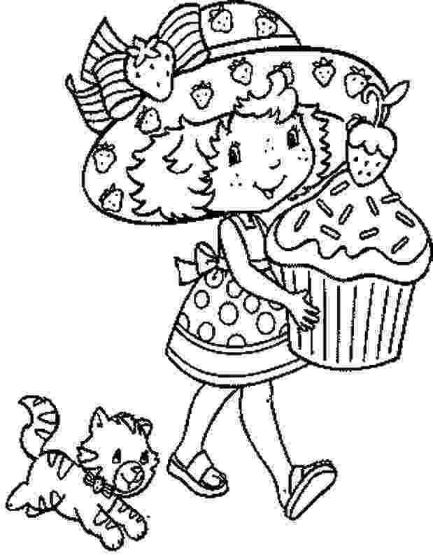 strawberry shortcake and friends coloring pages strawberry shortcake friend plum pudding coloring page pages coloring shortcake friends and strawberry