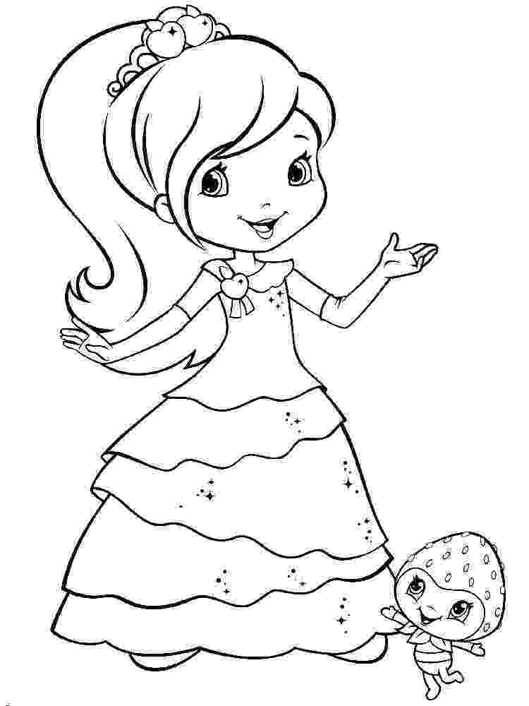 strawberry shortcake coloring page strawberry shortcake 35 coloringcolorcom strawberry page shortcake coloring