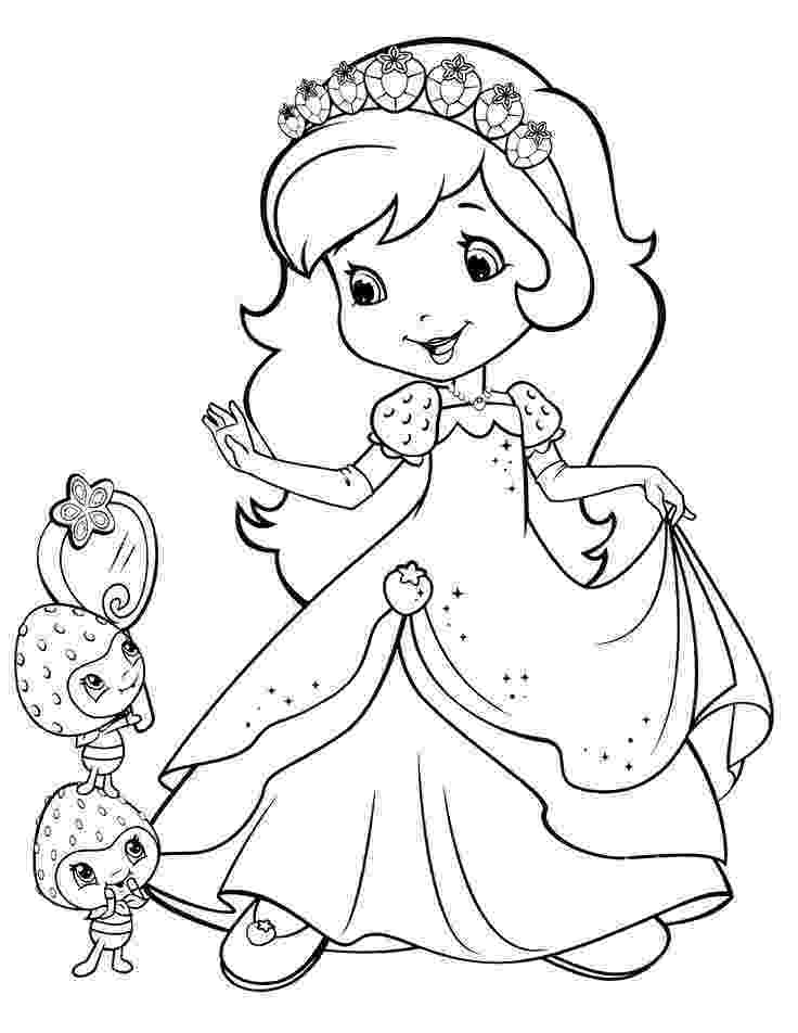 strawberry shortcake coloring page strawberry shortcake and friends coloring pages page strawberry coloring shortcake