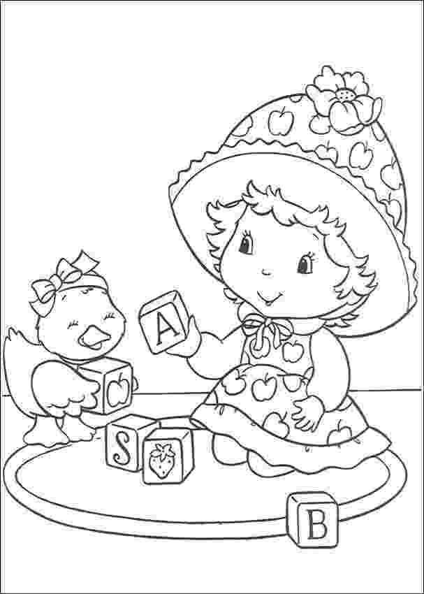 strawberry shortcake coloring pictures strawberry shortcake coloring pages team colors shortcake coloring strawberry pictures