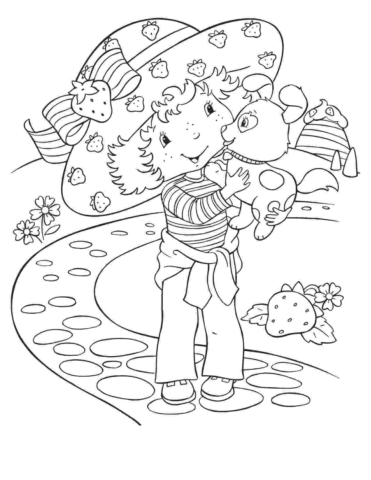strawberry shortcake colouring pictures 17 best images about strawberry shortcake on pinterest shortcake pictures strawberry colouring
