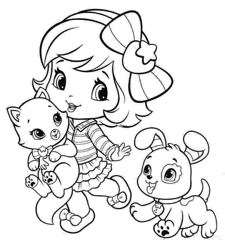strawberry shortcake colouring pictures free printable strawberry shortcake coloring pages for kids colouring pictures strawberry shortcake
