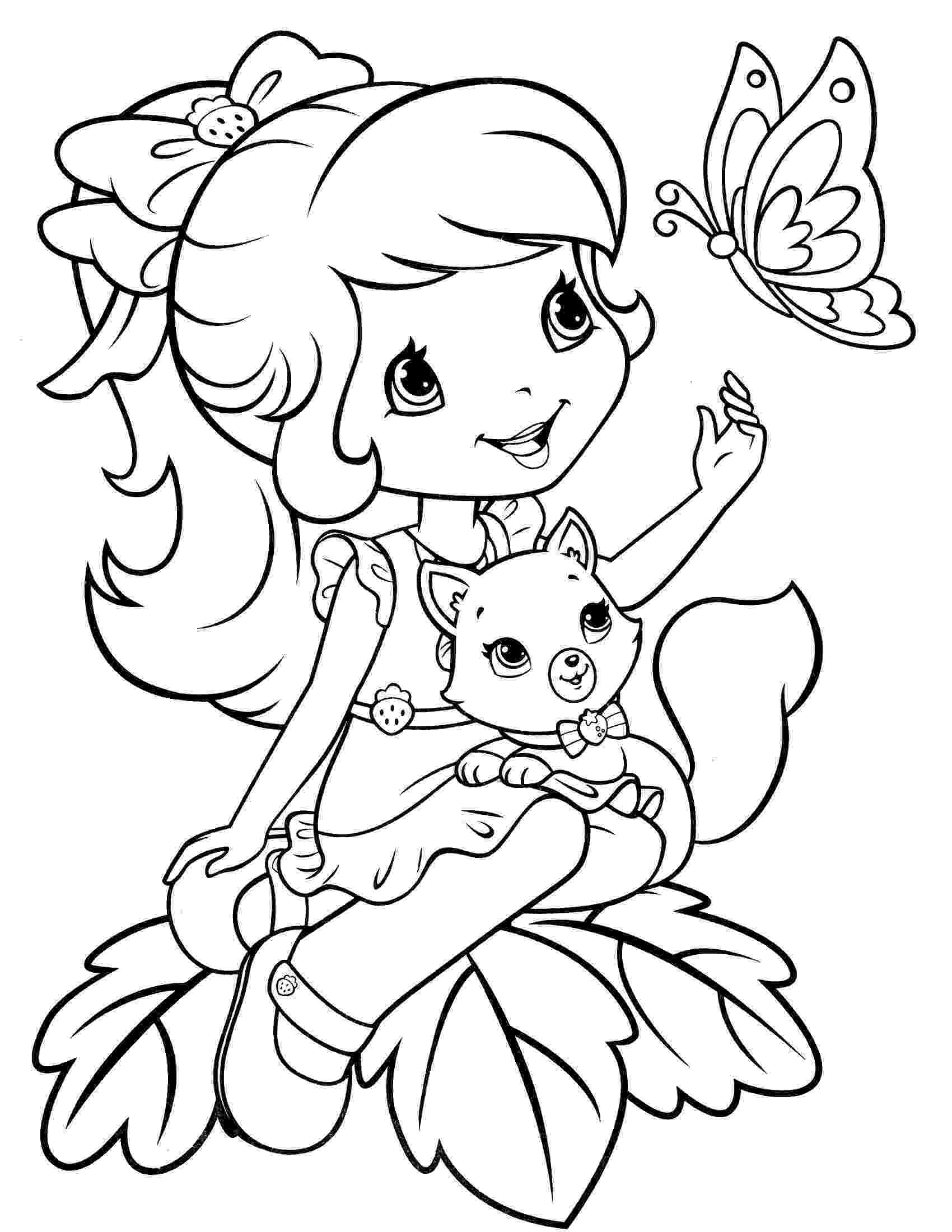 strawberry shortcake colouring pictures strawberry shortcake coloring pages getcoloringpagescom colouring shortcake strawberry pictures