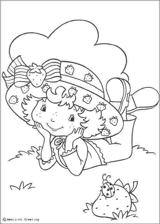 strawberry shortcake colouring pictures strawberry shortcake coloring pages getcoloringpagescom colouring strawberry shortcake pictures