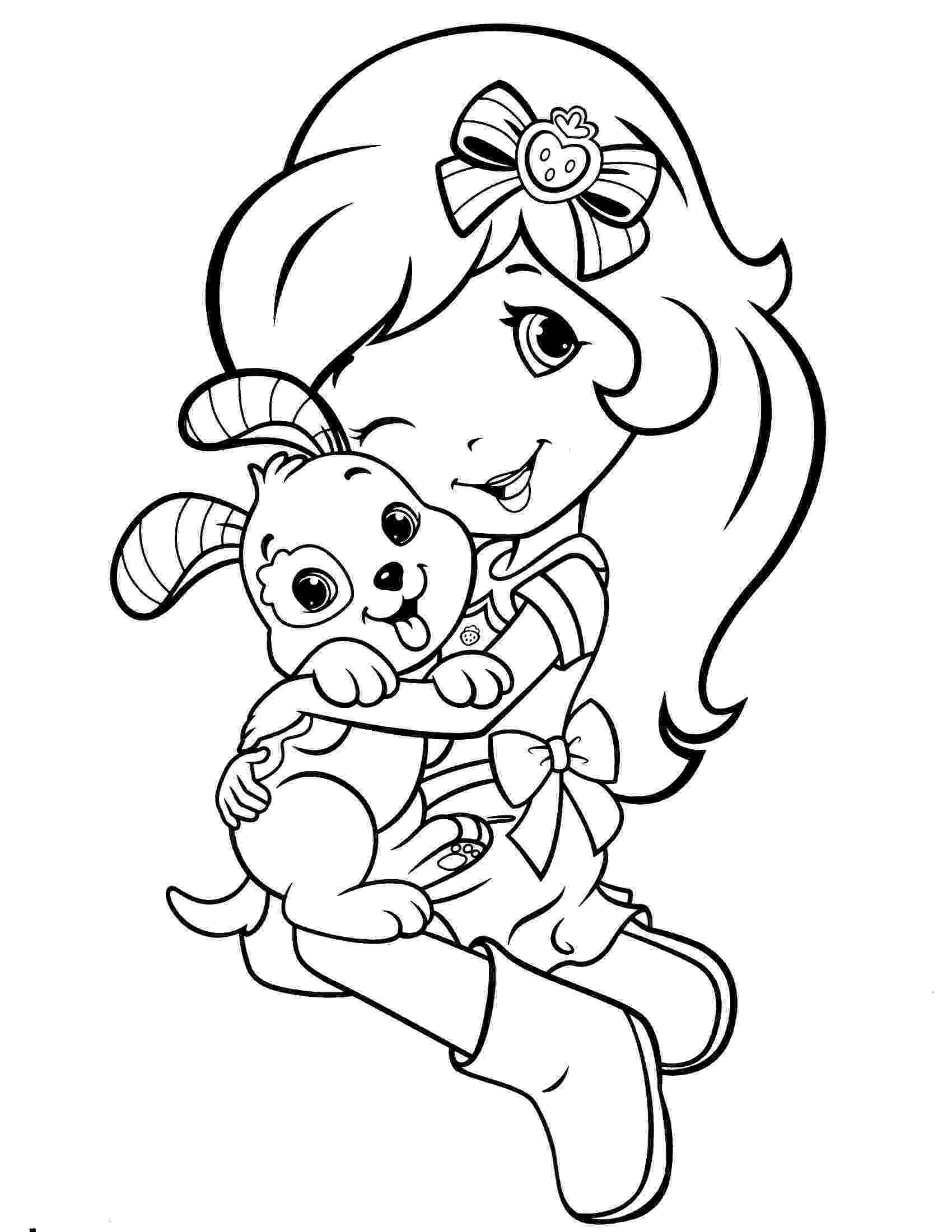 strawberry shortcake colouring pictures strawberry shortcake coloring pages getcoloringpagescom pictures shortcake strawberry colouring