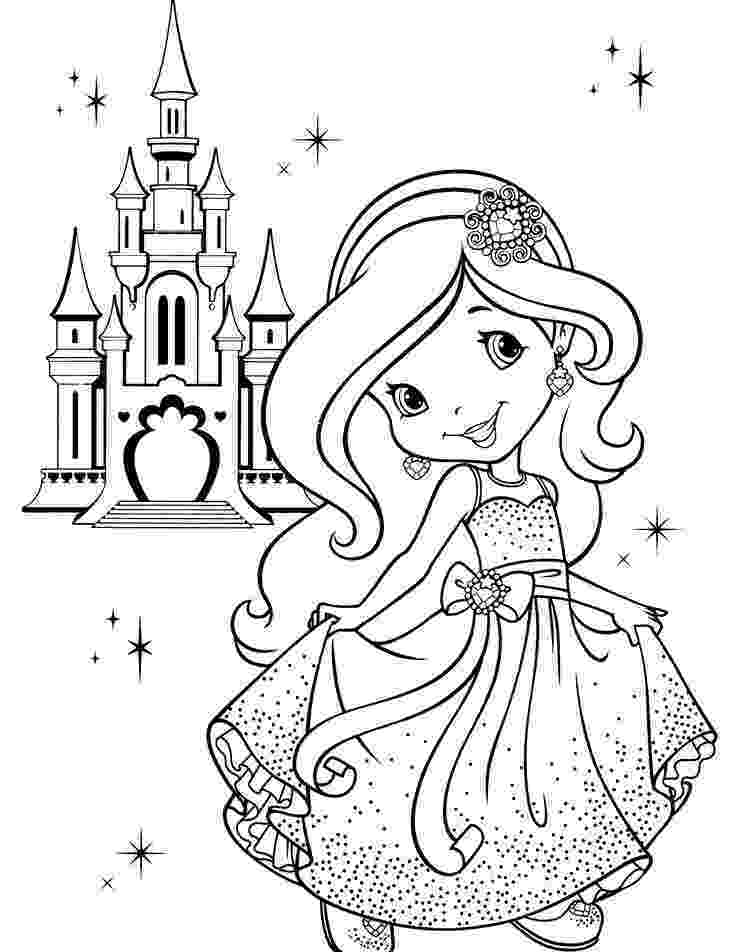 strawberry shortcake princess coloring pages 188 best strawberry shortcake images on pinterest princess pages coloring strawberry shortcake
