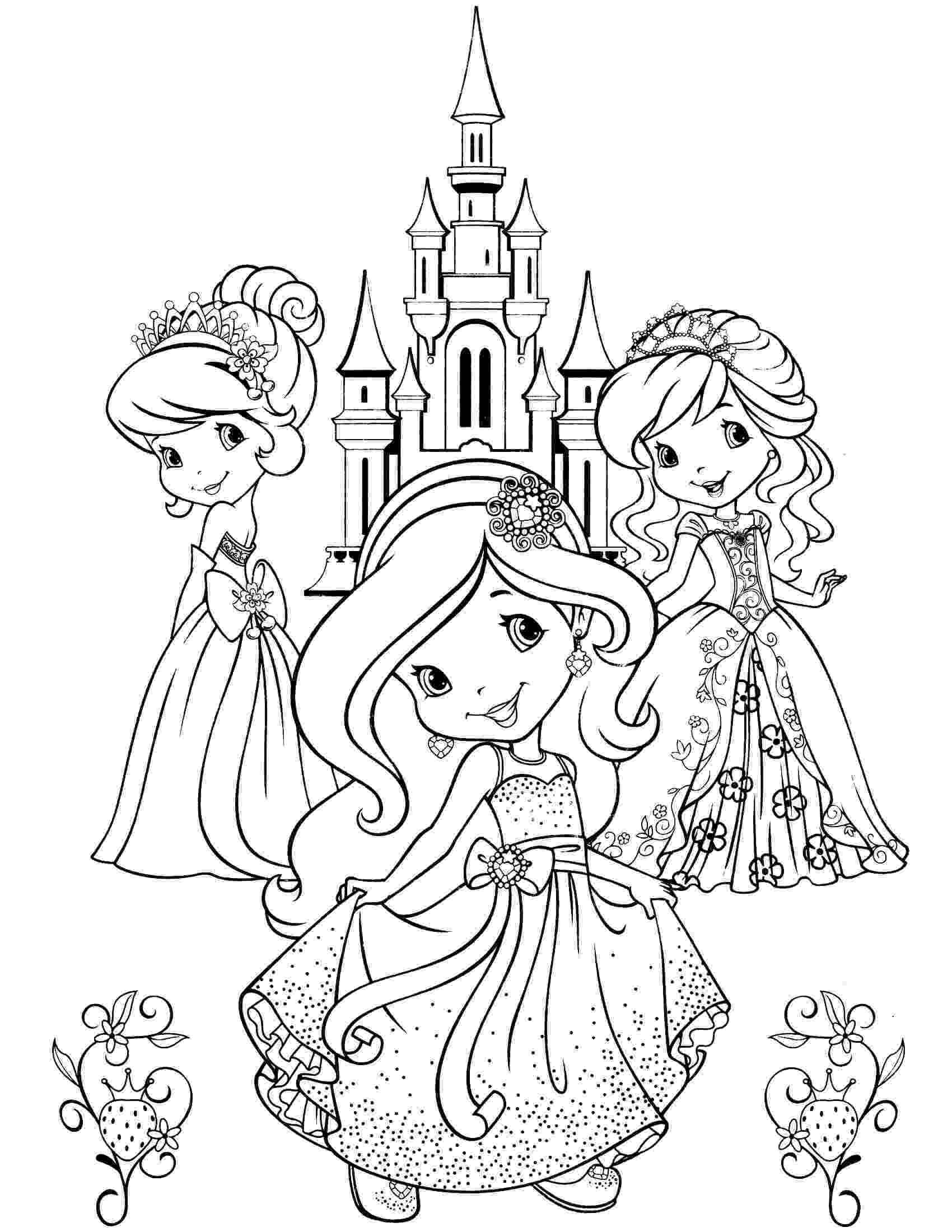 strawberry shortcake princess coloring pages download strawberry shortcake coloring pages digital coloring strawberry shortcake princess pages