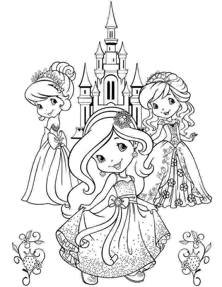 strawberry shortcake princess coloring pages s1200 7731000 разукрашка Принцесса раскраски strawberry shortcake princess coloring pages