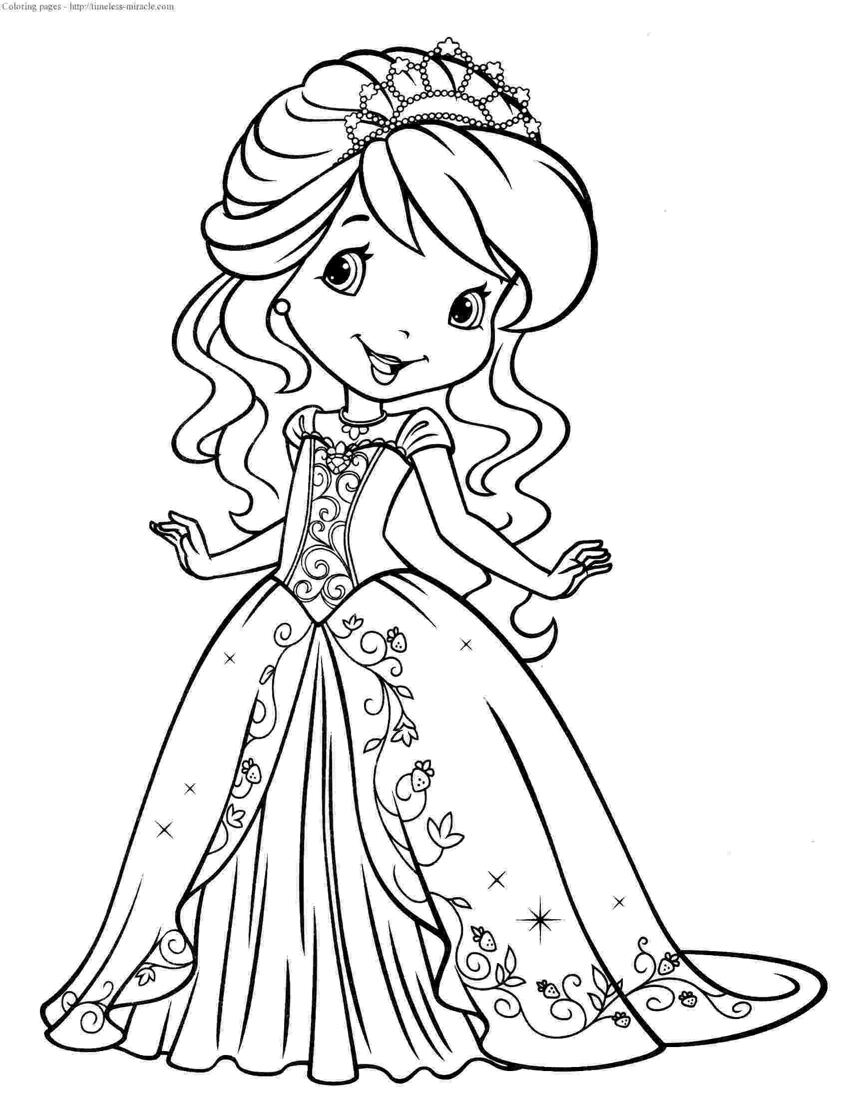 strawberry shortcake princess coloring pages strawberry shortcake coloring pages getcoloringpagescom coloring shortcake pages strawberry princess