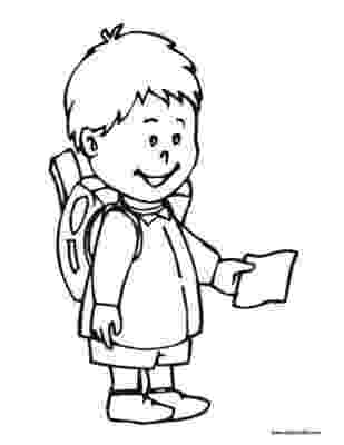 student coloring page back to school coloring page clipart panda free student page coloring