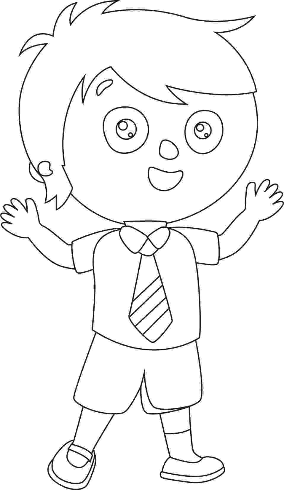 student coloring page good student boy coloring page wecoloringpagecom page coloring student