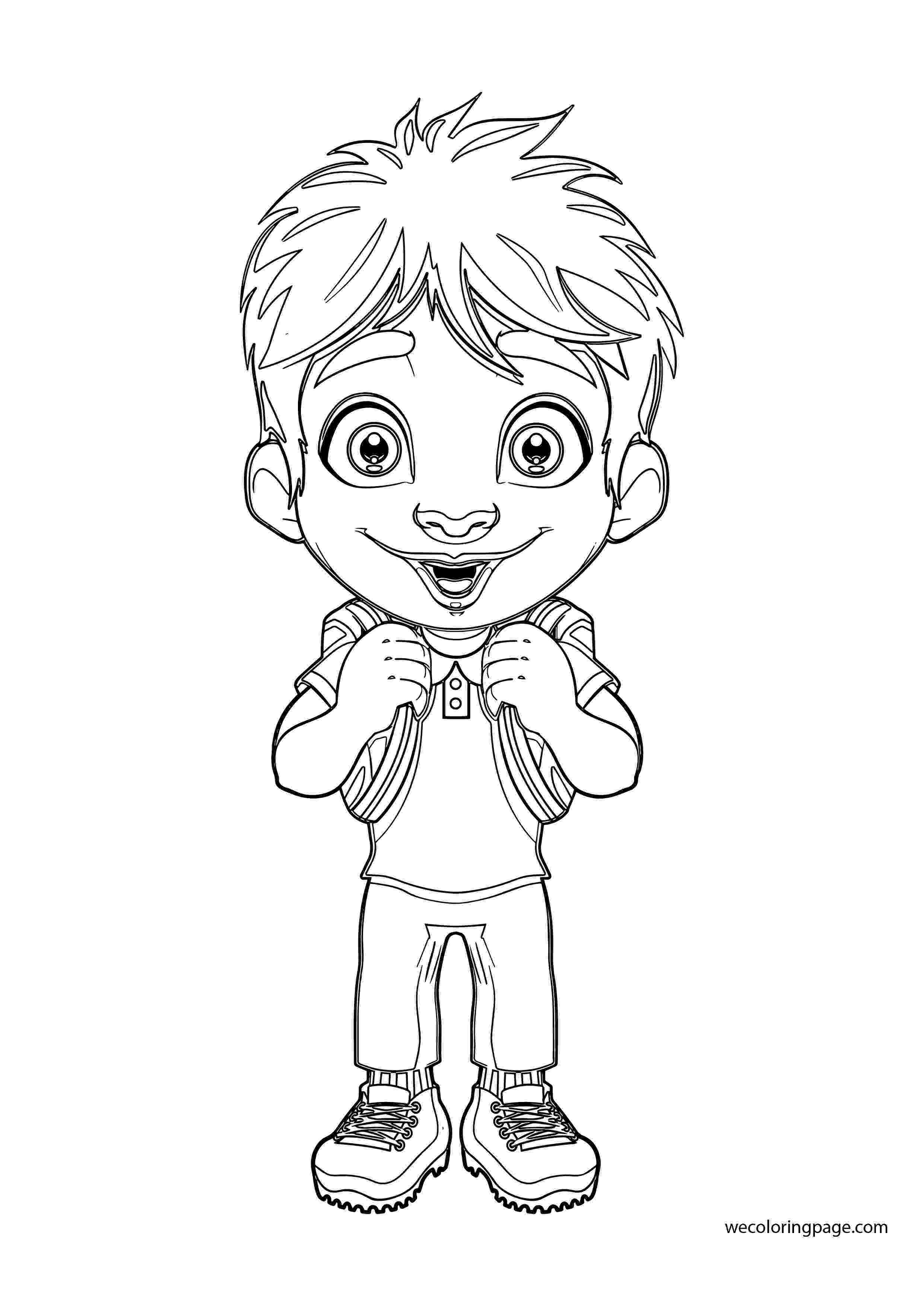 student coloring page school student eat from lunchbox colouring pages coloring student page coloring