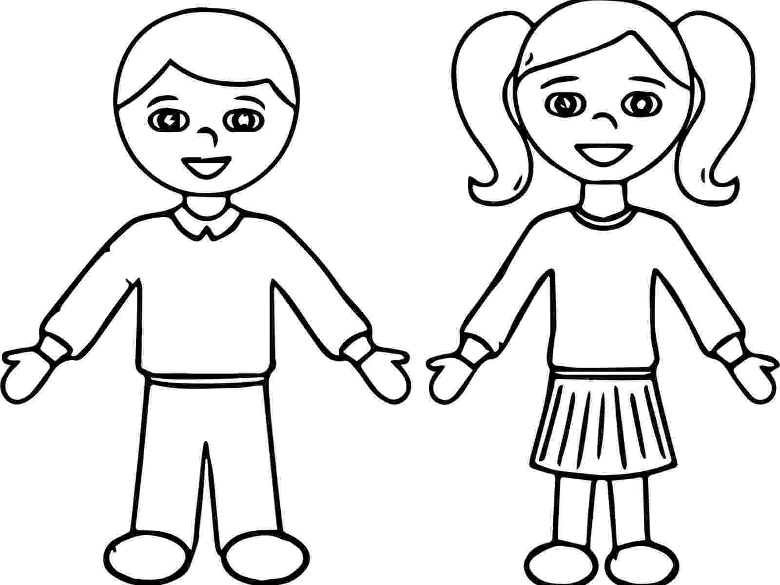 student coloring page school students drawing at getdrawingscom free for coloring page student