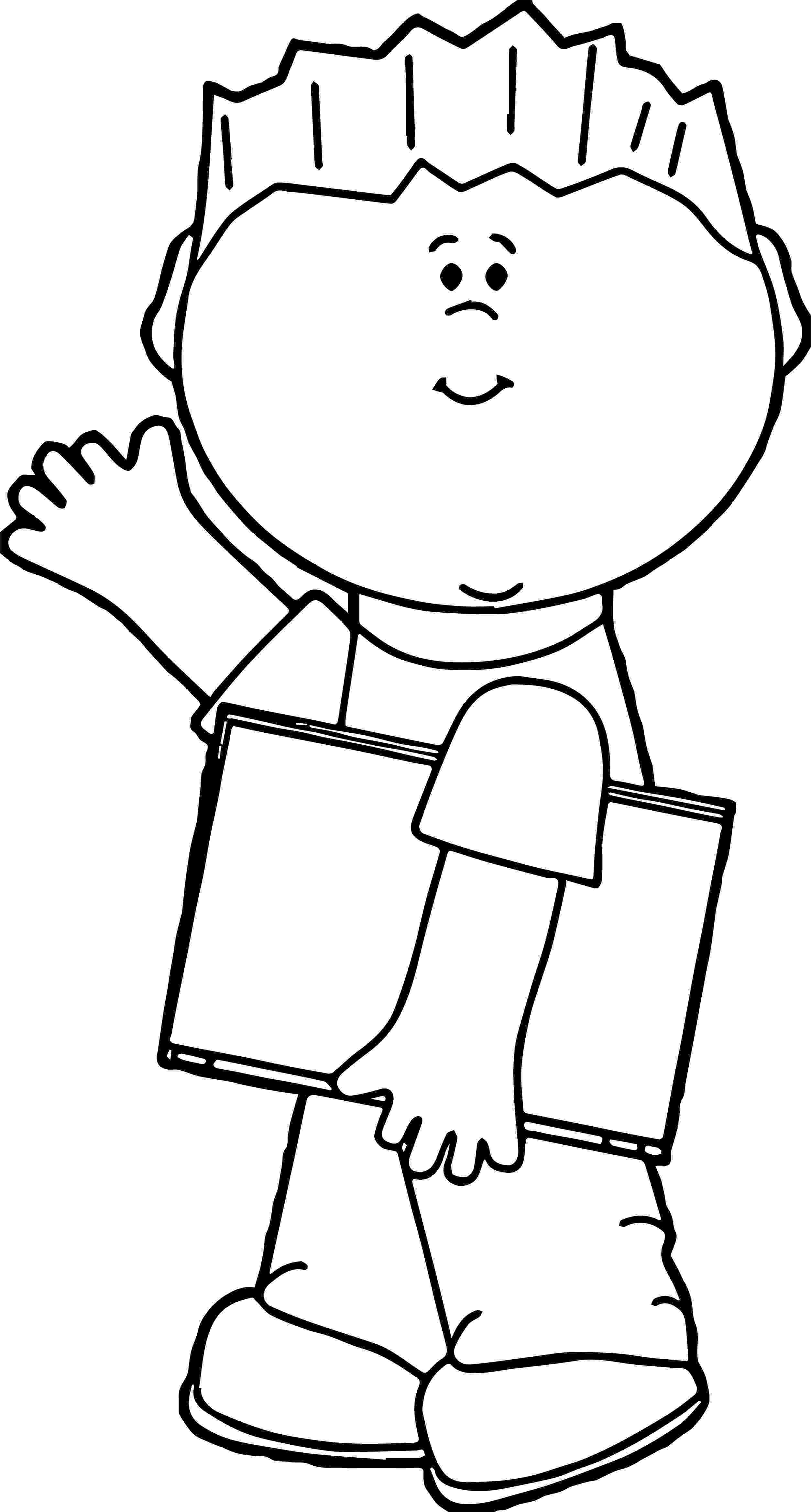 student coloring page student boy book coloring page wecoloringpagecom coloring page student