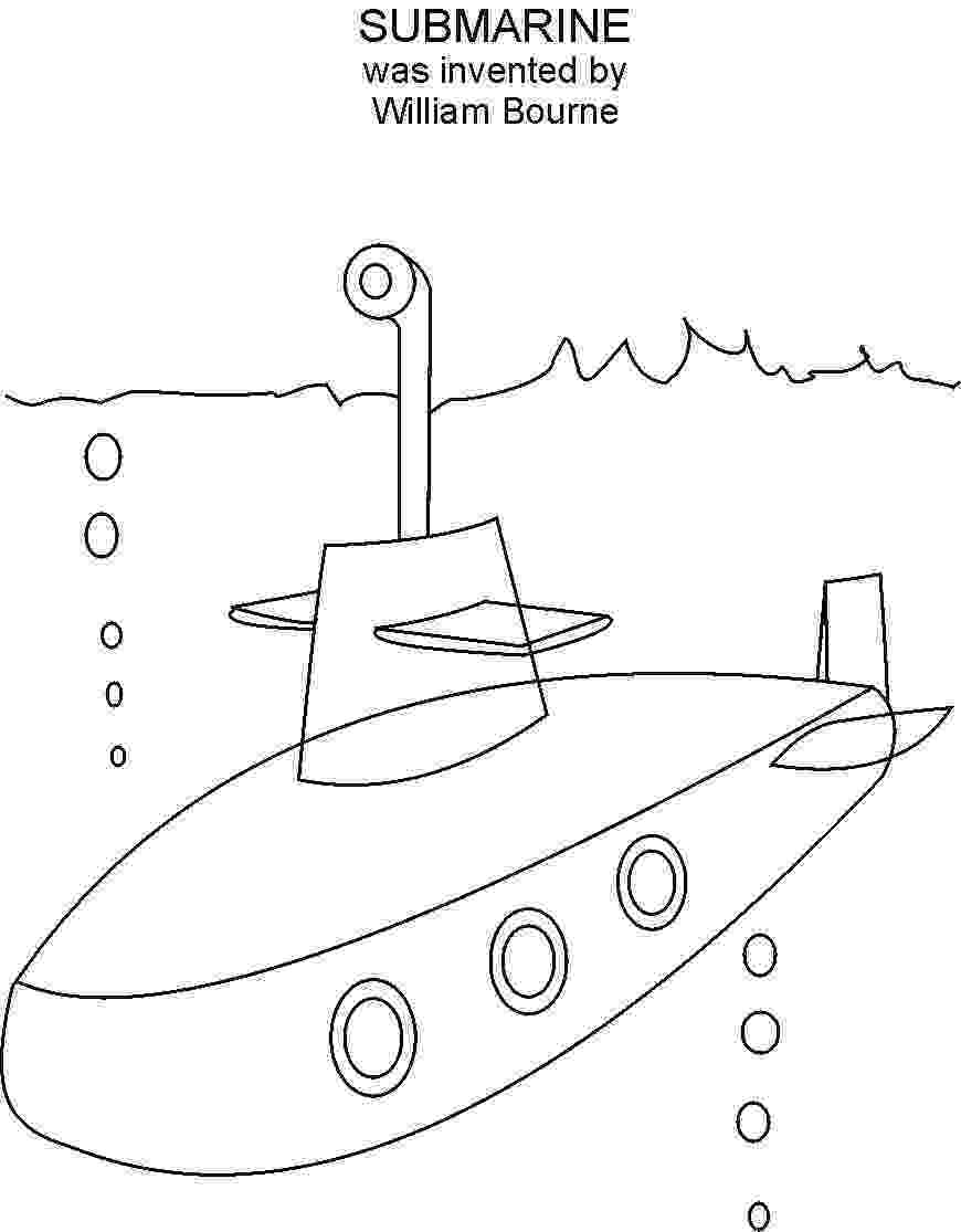 submarine coloring pages submarine coloring page coloringcrewcom submarine pages coloring