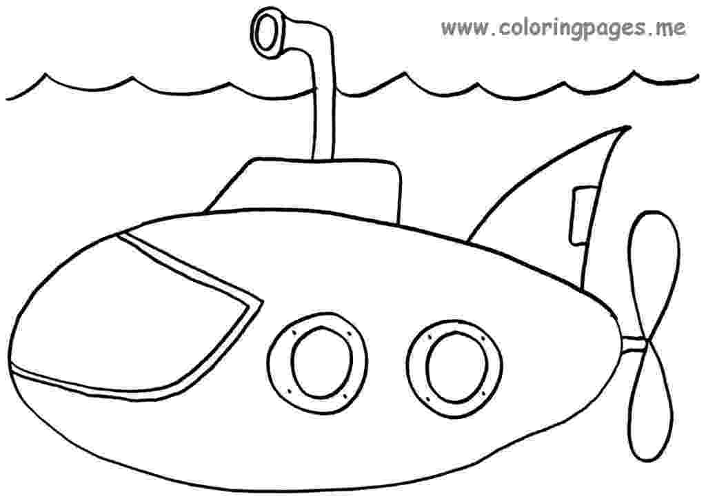 submarine coloring pages submarine coloring pages free printable submarine coloring submarine pages