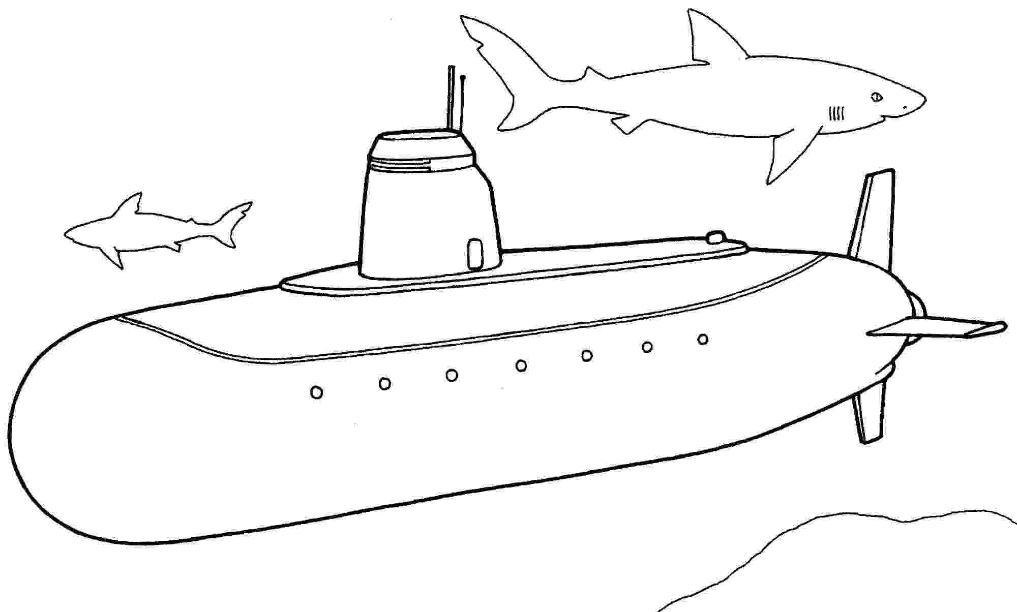 submarine coloring pages submarine coloring pages printable high quality coloring pages coloring submarine