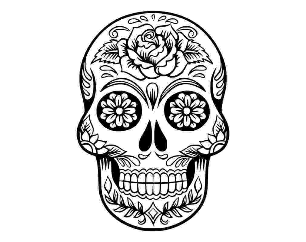 sugar skulls pictures printable skulls coloring pages for kids cool2bkids sugar skulls pictures