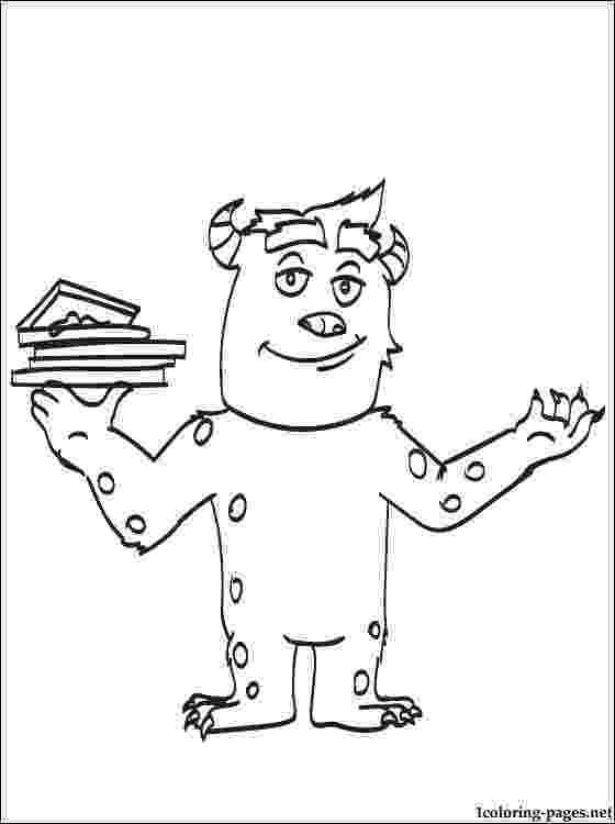sulley coloring pages sully coloring page at getdrawingscom free for personal sulley coloring pages