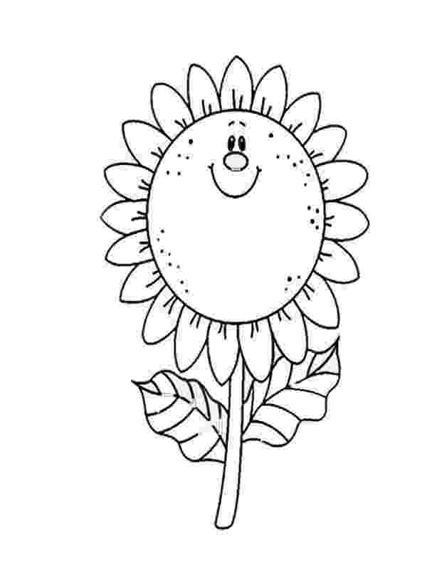 sunflower for coloring sunflower coloring page for kids download print online coloring sunflower for