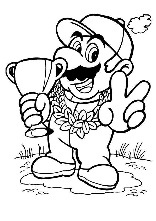 super mario print luigi coloring pages archives super print mario