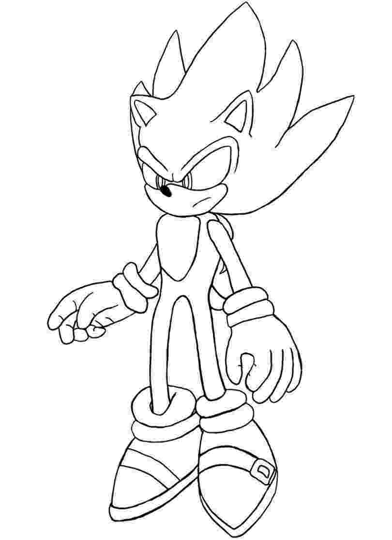 super sonic coloring page free printable sonic the hedgehog coloring pages for kids coloring super page sonic