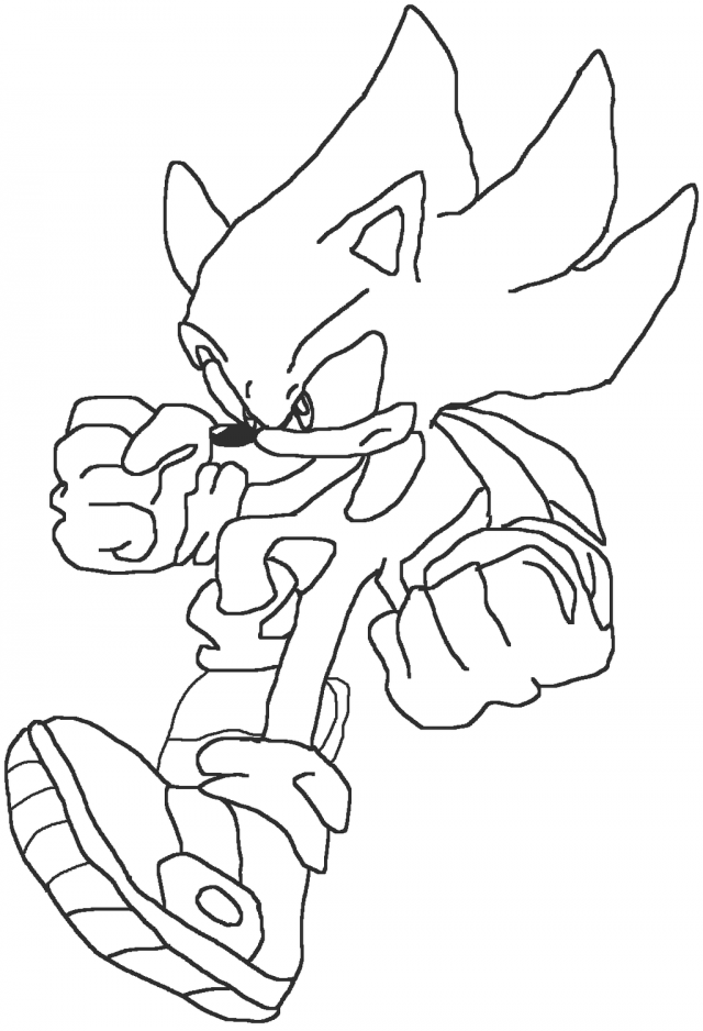 super sonic coloring page super sonic coloring pages free printable super sonic super sonic coloring page