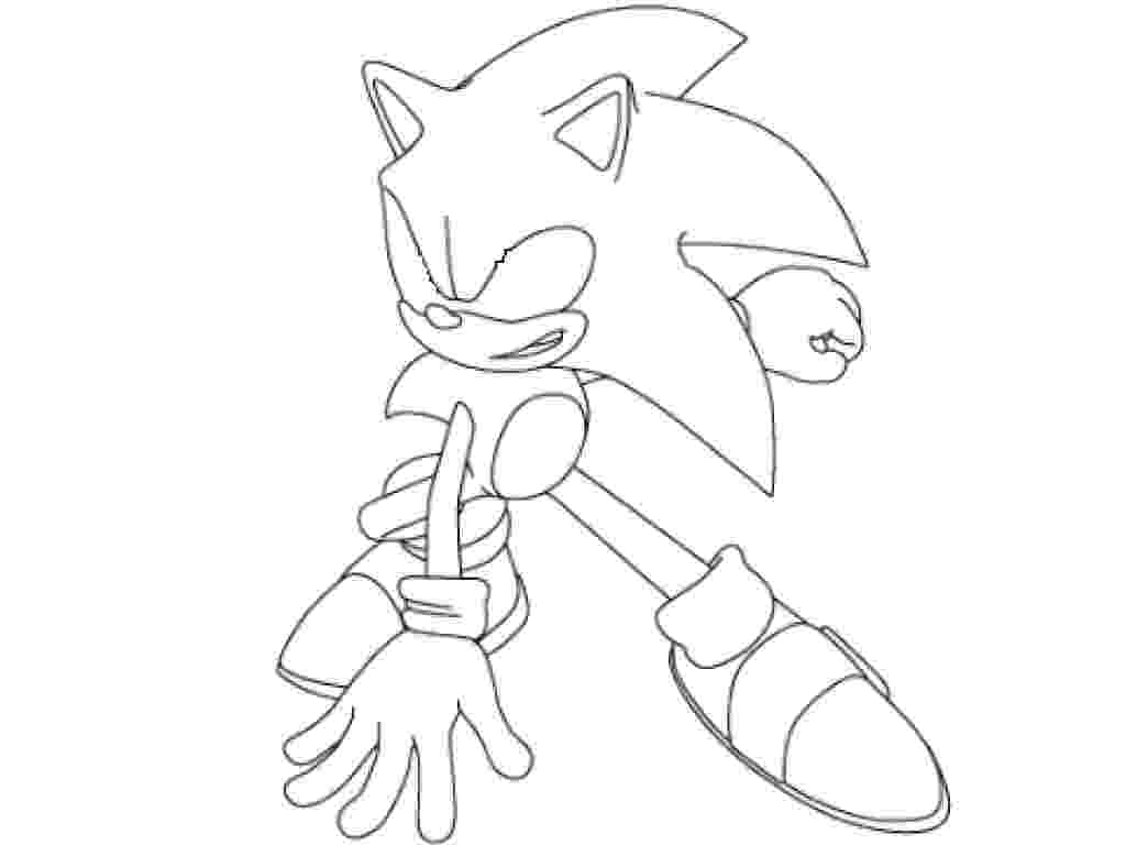super sonic coloring page super sonic drawing at getdrawings free download super coloring sonic page