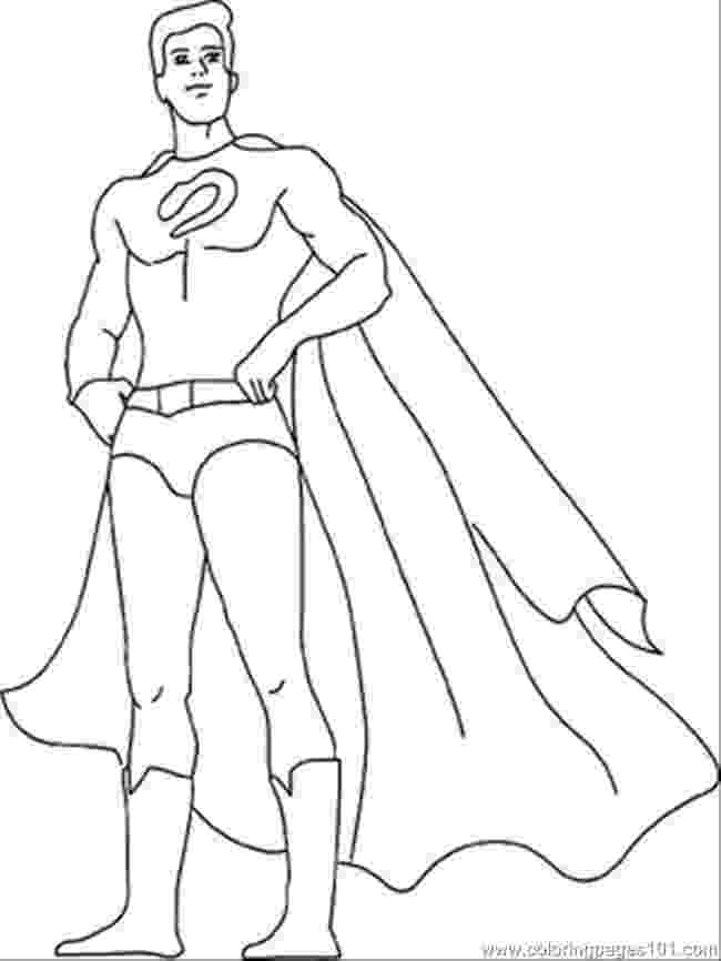 superhero coloring full page coloring pages superhero coloring
