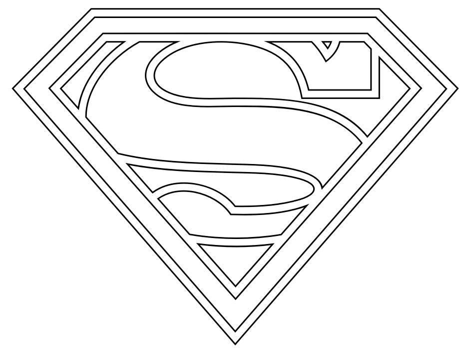 superman coloring pages printable superman free to color for children superman kids coloring printable superman pages