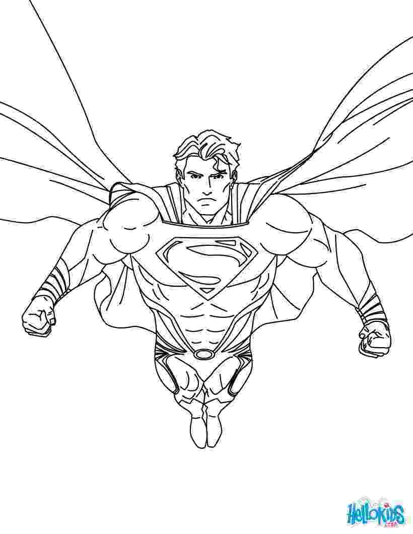superman coloring pages printable superman printing and drawing coloring pages hellokidscom printable pages coloring superman