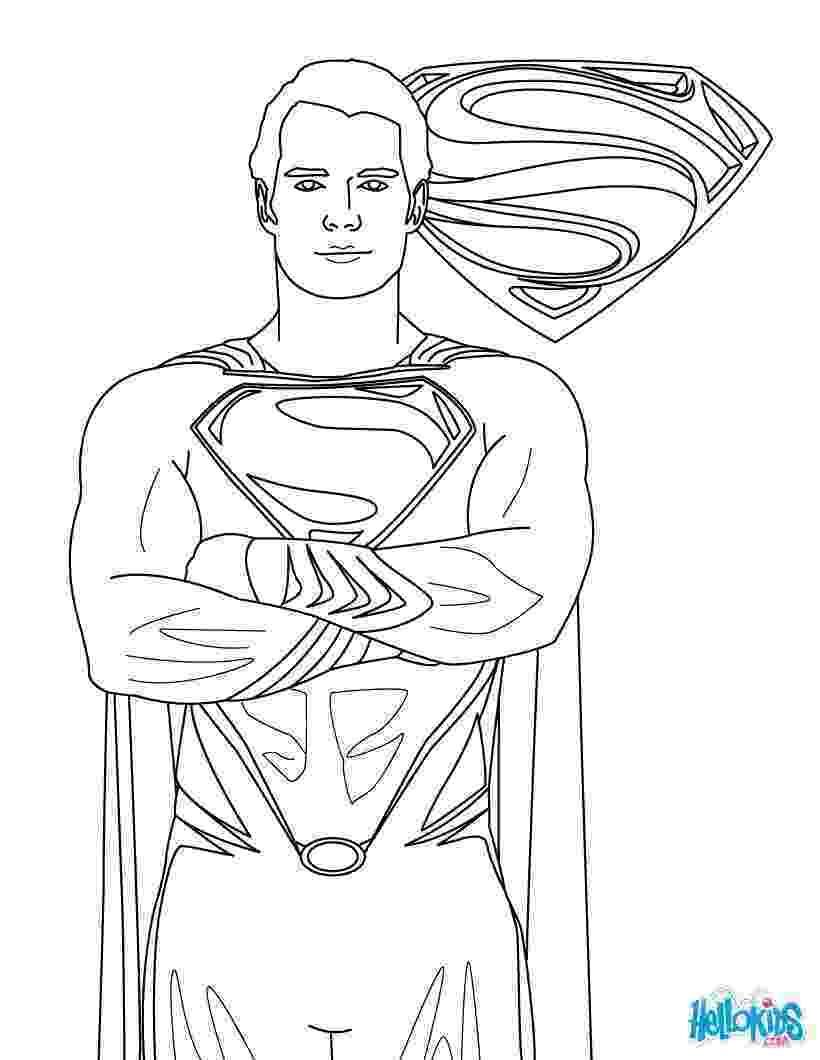 superman coloring sheet free printable superman coloring pages for kids cool2bkids superman coloring sheet