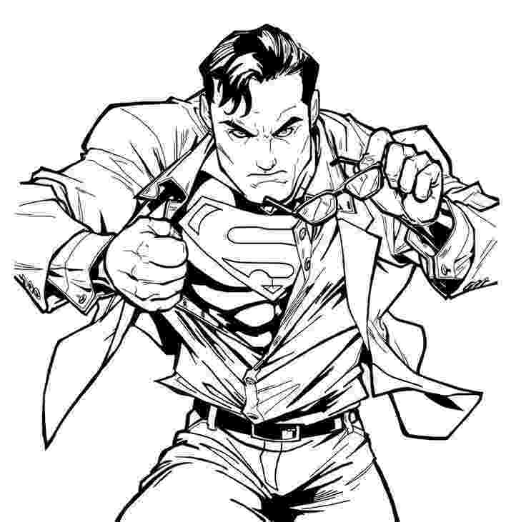 superman coloring sheet free printable superman quot super hero quot flying coloring pages coloring superman sheet