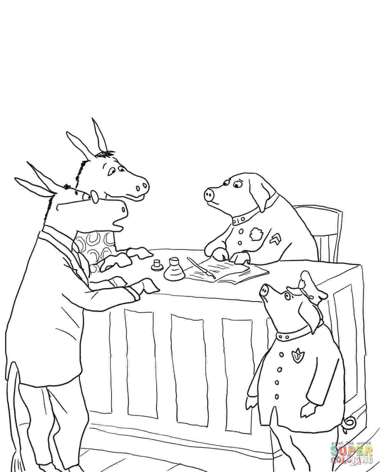 sylvester and the magic pebble coloring page coloring pages sylvester and the magic pebble coloring page pebble the and coloring magic sylvester