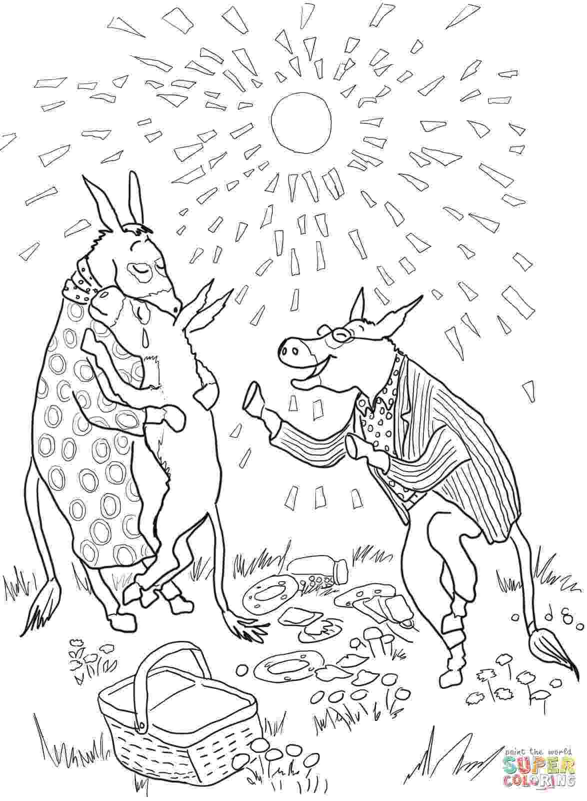 sylvester and the magic pebble coloring page sylvester and the magic pebble coloring page coloring home sylvester magic coloring and pebble the page