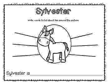 sylvester and the magic pebble coloring page sylvester and the magic pebble printables freebie by sylvester the pebble and magic page coloring