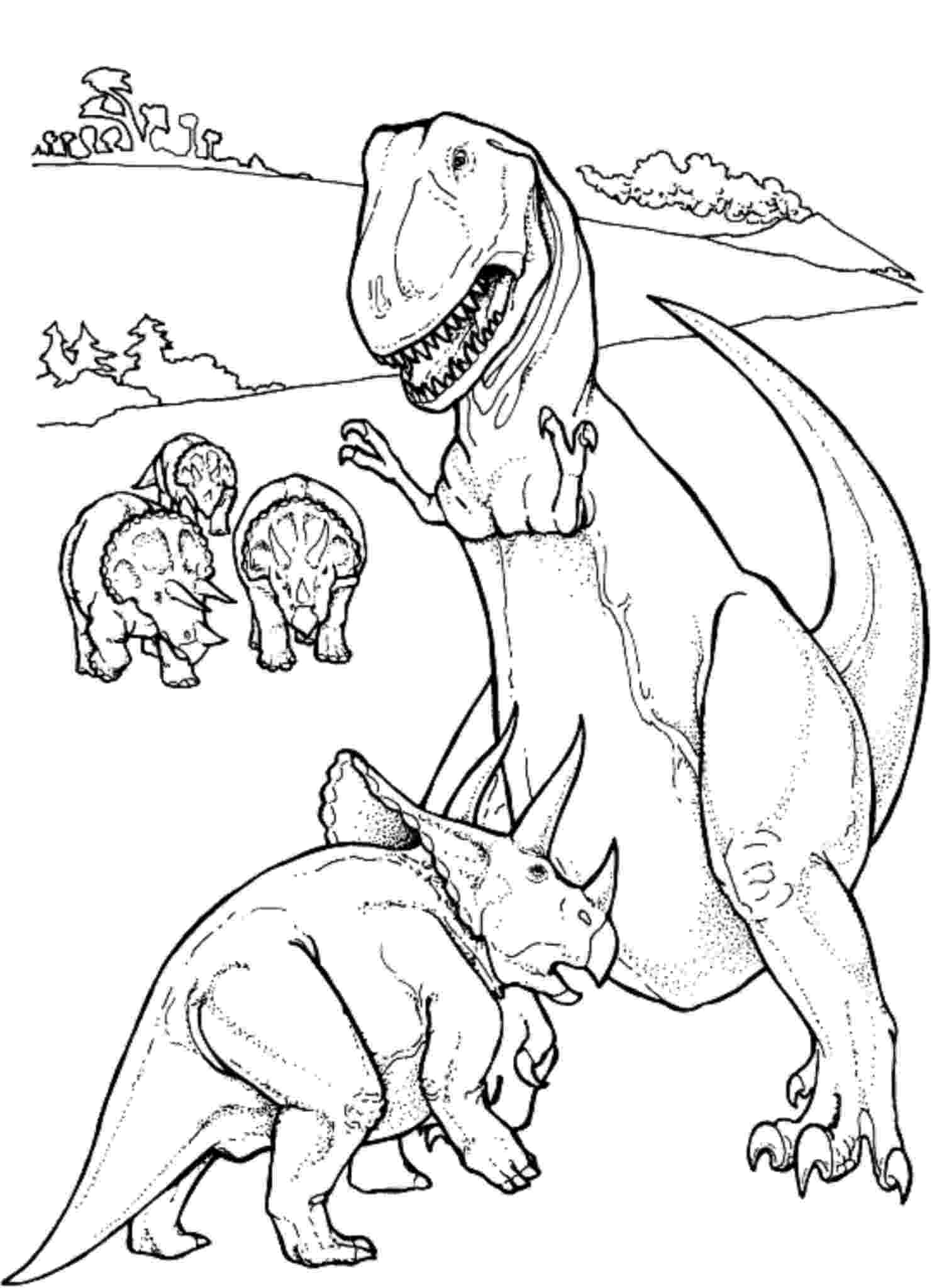 t rex coloring page get this free t rex coloring pages 92377 coloring rex t page