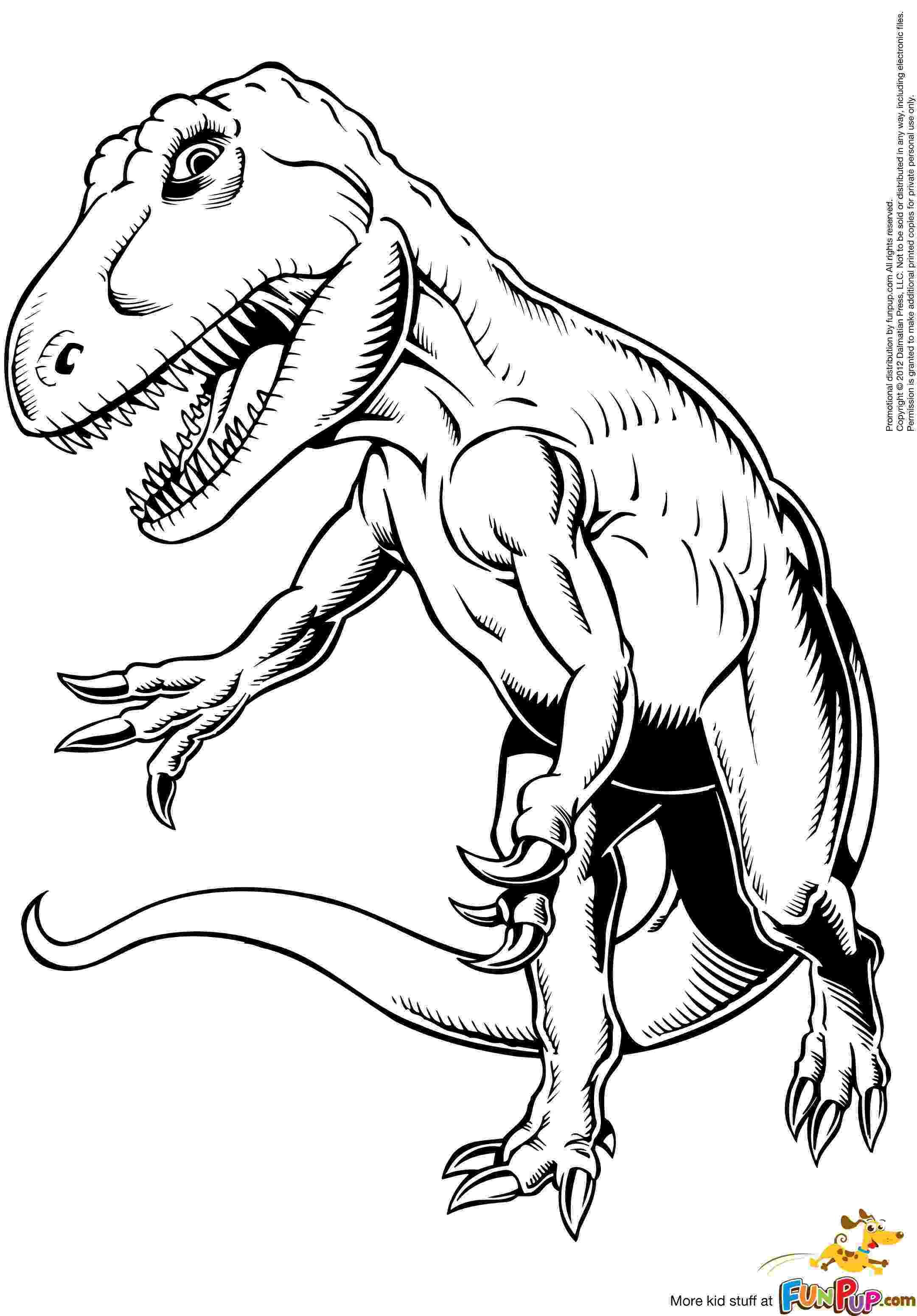 t rex colour print download dinosaur t rex coloring pages for kids t colour rex