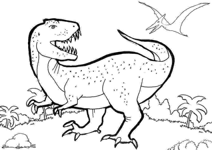 t rex colour trex coloring pages best coloring pages for kids colour t rex 1 2