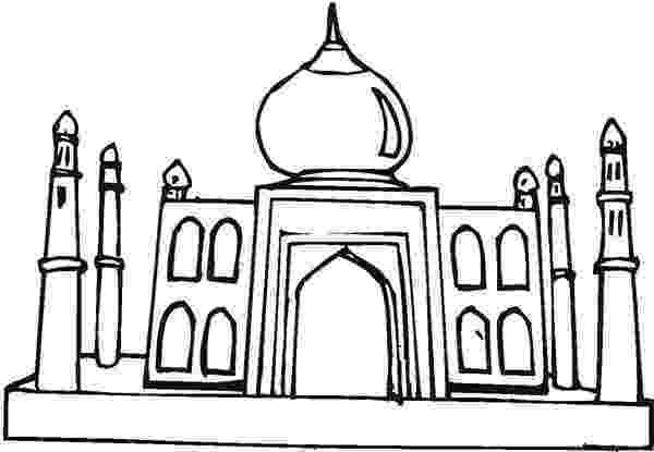 taj mahal dibujo taj mahal cartoon drawing at getdrawingscom free for dibujo taj mahal