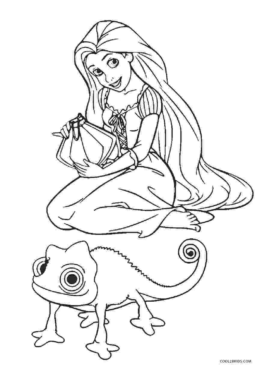 tangled pascal coloring pages disney39s tangled coloring pages disneyclipscom pascal tangled pages coloring