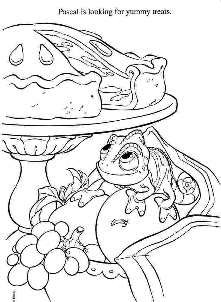 tangled pascal coloring pages learn how to draw pascal from tangled tangled step by pascal coloring tangled pages