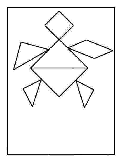 tangram frog las 68 mejores imágenes de tangram tangram geometría y tangram frog