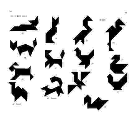 tangrams animals 330 tangram avec solutions formes et grandeurs sizes tangrams animals