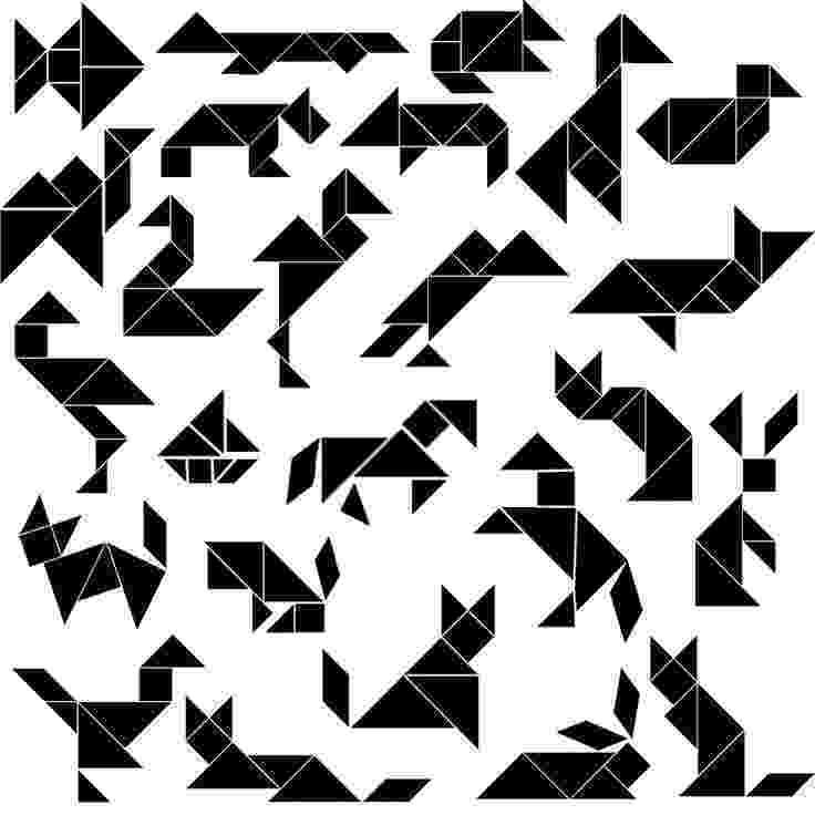 tangrams animals animals silhouette tangram card 2 clipart etc tangrams animals