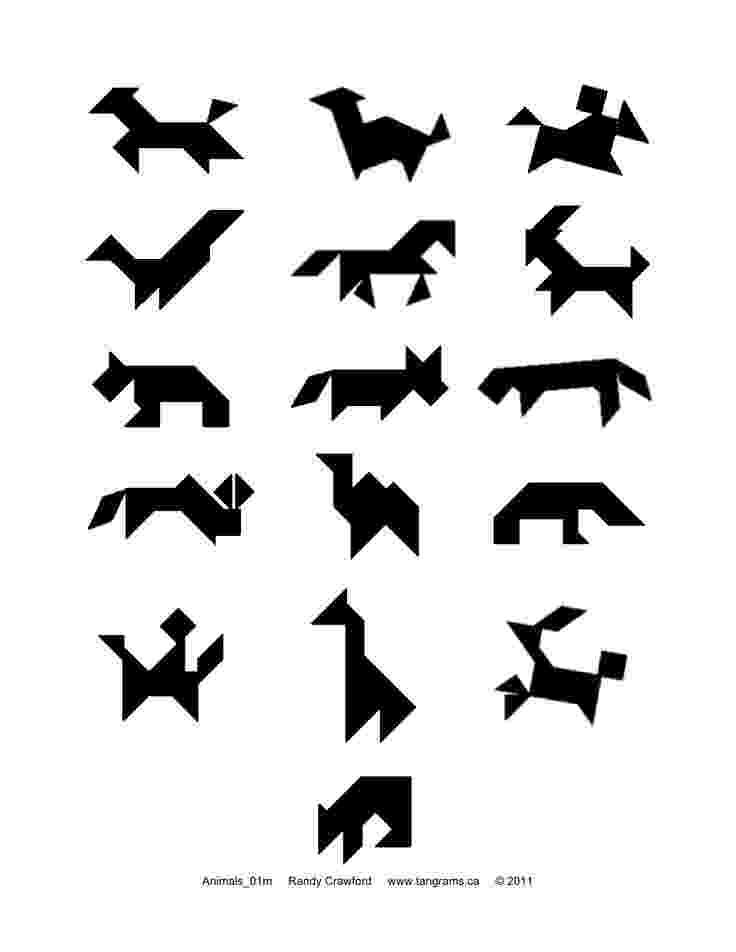 tangrams animals joyful mama39s place tangram in the kitchen animals tangrams