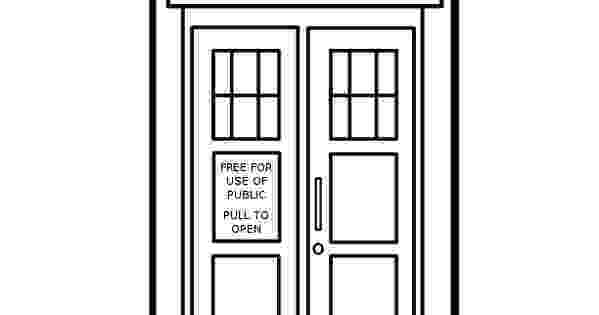 tardis colouring pages doctor who coloring pages printable the tardis colouring colouring tardis pages