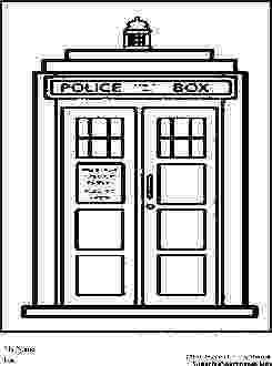 tardis colouring pages doctor who wibbly wobbly timey wimey coloring pages colouring tardis pages