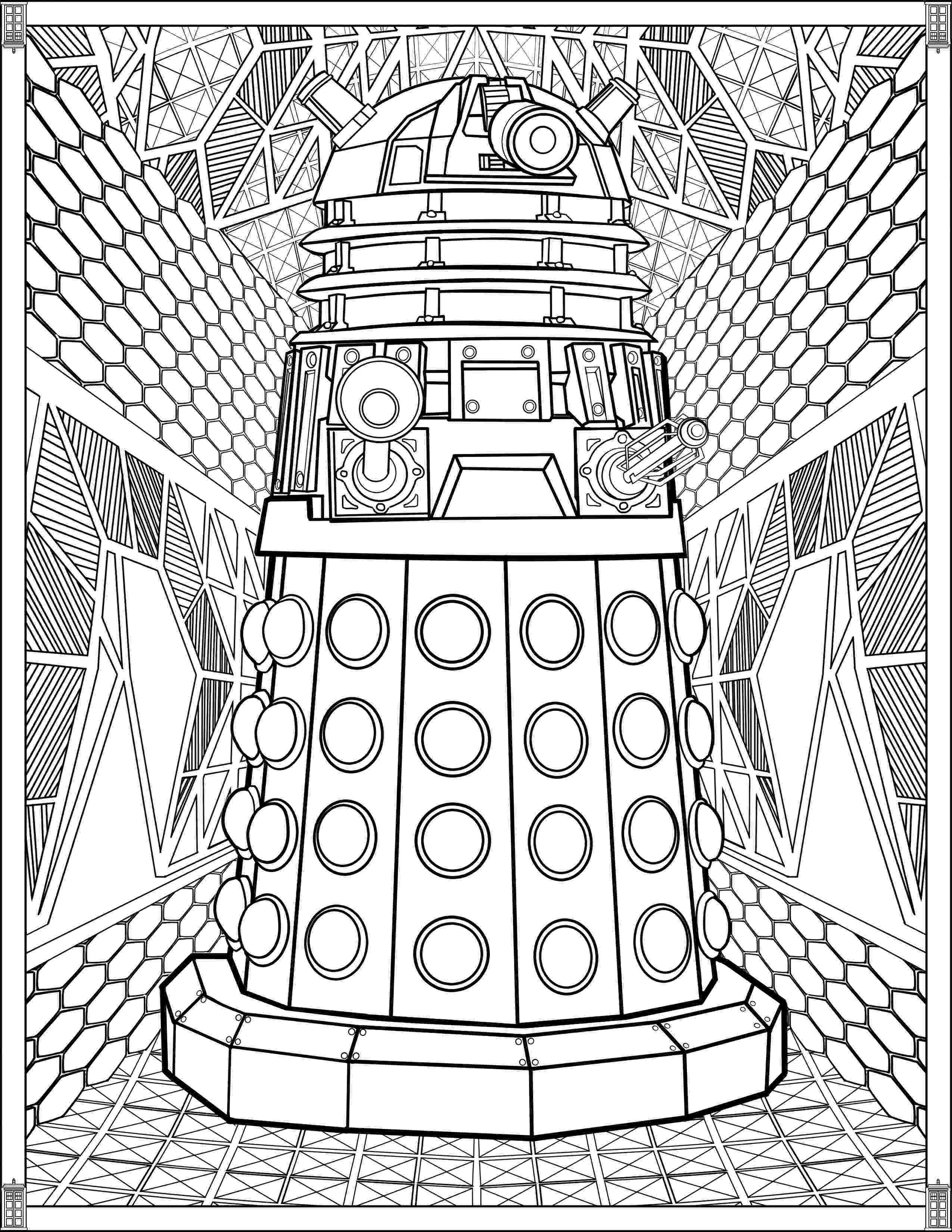 tardis colouring pages doctor who wibbly wobbly timey wimey coloring pages tardis pages colouring